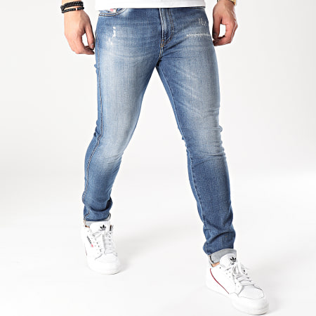 Diesel - Jean Skinny D-Istord-X Bleu Denim