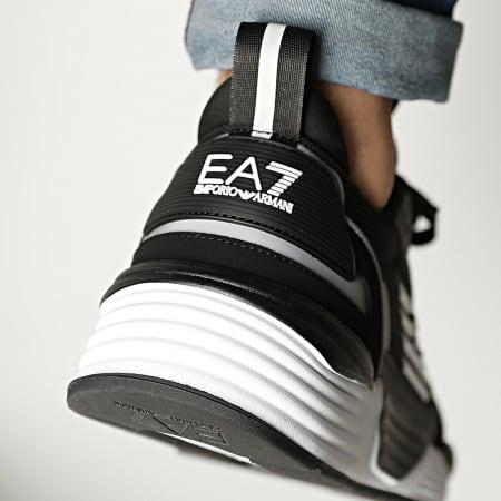 EA7 - Baskets X8X070-XK165 Black Silver