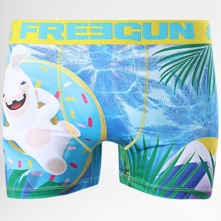 Freegun - Boxer Lapin Crétins Pool Bleu Clair