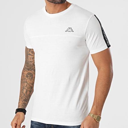 Kappa - Tee Shirt A Bandes Itap 304TEP0 Ecru