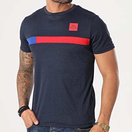 Kappa - Tee Shirt Imperio 311B2UW Bleu Marine