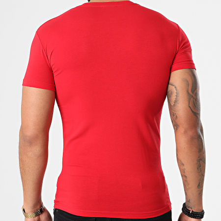 Emporio Armani - Tee Shirt 111035-1P516 Rouge