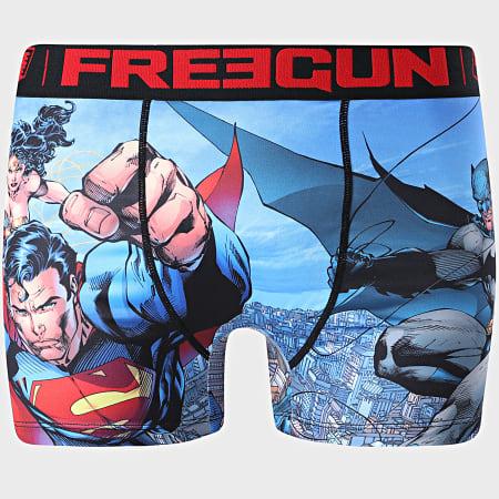 Freegun - Boxer Justice League Bleu Clair