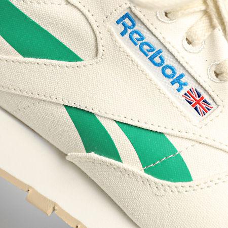 Reebok - Baskets Classic Leather Grow S23902 Chalk Court Green Horizon Blue