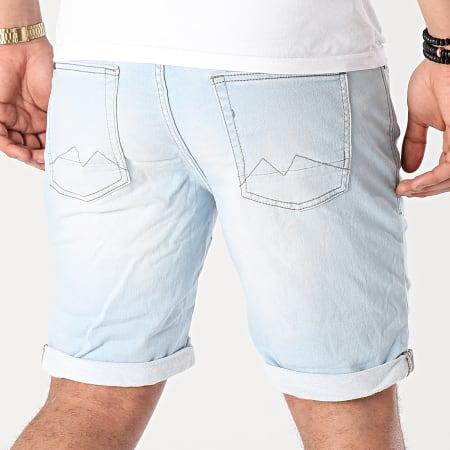 Blend - Short Jean Twister 20711773 Bleu Wash
