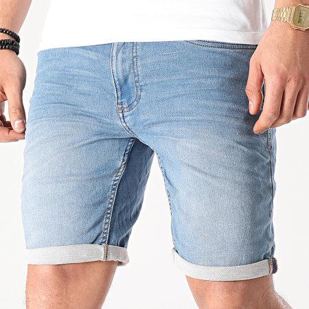 Blend - Short Jean Twister 20711773 Bleu Denim