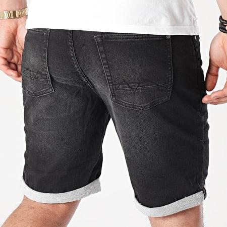 Blend - Short Jean Twister 20711773 Noir