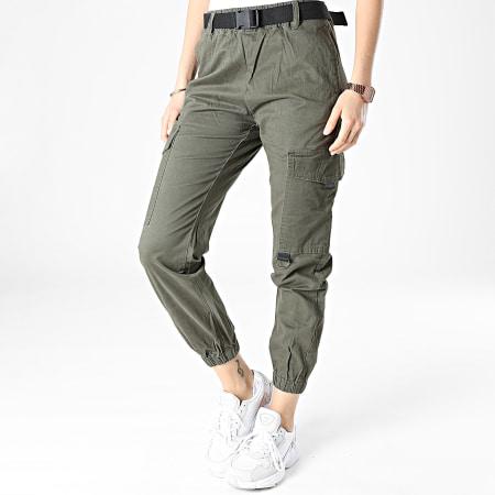 Girls Only - Jogger Pant Femme C9050 Vert Kaki