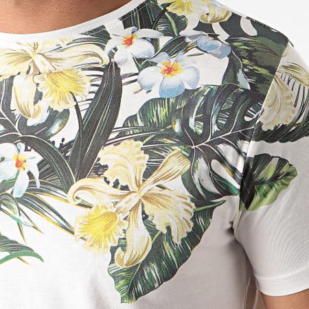La Maion Blaggio - Tee Shirt Floral Murol Blanc