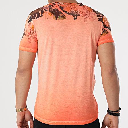 La Maison Blaggio - Tee Shirt Floral Murol Orange