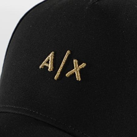 Armani Exchange - Casquette 954112-CC571 Noir Doré