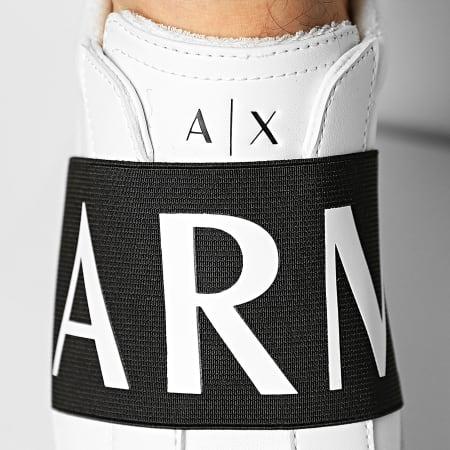 Armani Exchange - Basquettes XUX097-XV283 Optical White Black