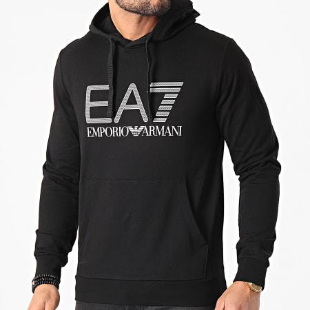EA7 Emporio Armani - Sweat Capuche 3KPM62-PJ05Z Noir