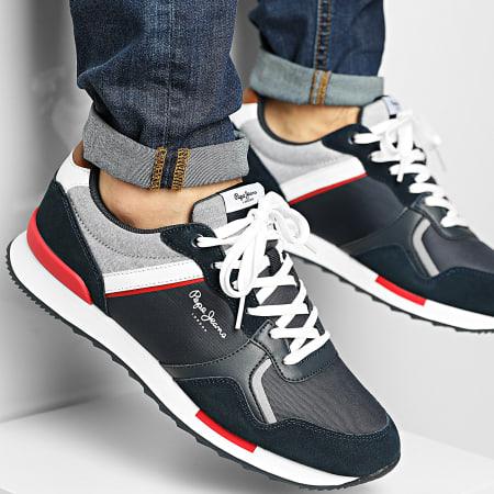 Pepe Jeans - Baskets Cross 4 Tech PMS30704 Navy