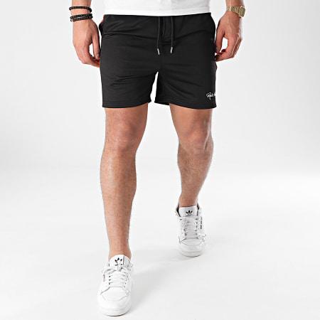 Project X - Short Jogging A Bandes 2140151 Noir Orange