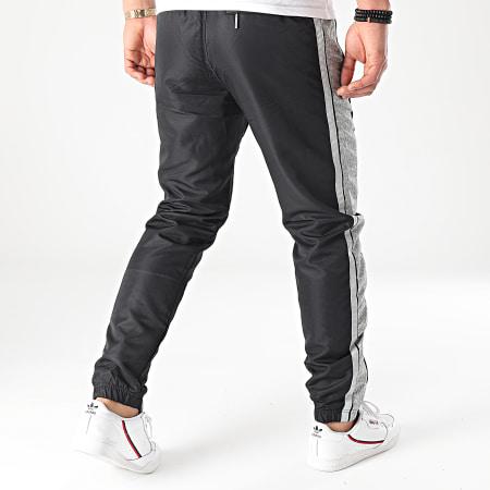Sergio Tacchini - Pantalon Jogging A Bandes Ansley 39169 Noir
