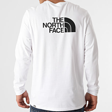 The North Face - Tee Shirt Manches Longues Easy A2TX1 Blanc