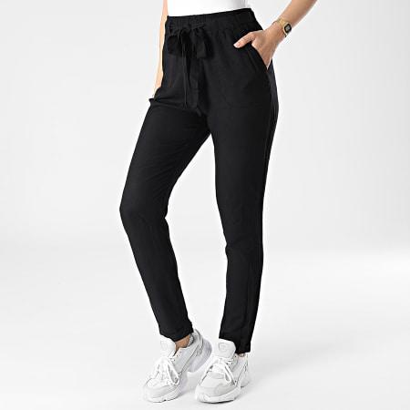 Deeluxe - Pantalon Femme Elida Noir
