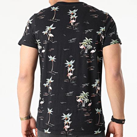Deeluxe - Tee Shirt Papeete S21161M Noir Floral