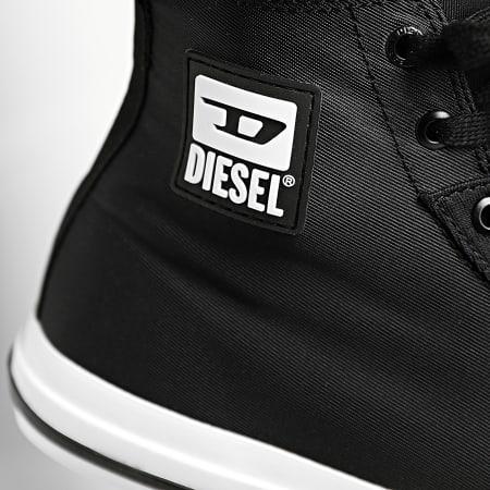Diesel - Baskets Astico Mid Cut Y02370 Black White