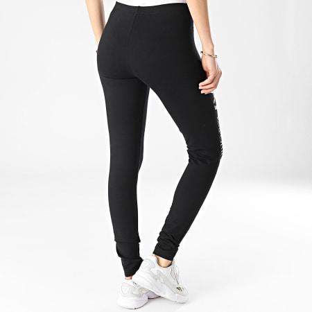 EA7 - Legging Femme 8NTP63-TJ01Z Noir Doré