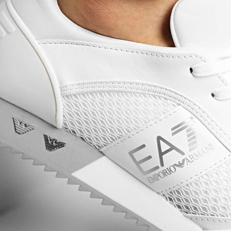EA7 - Baskets X8X027-XK050 White Silver