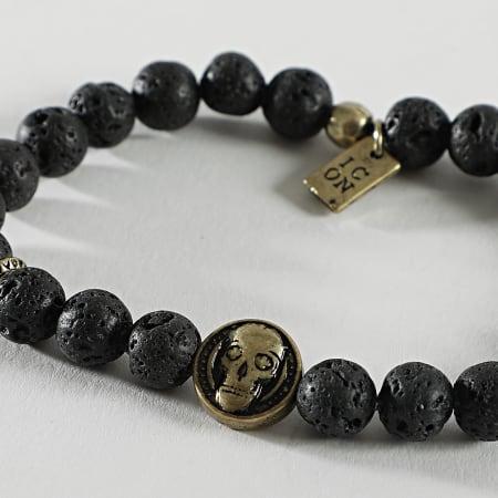 Icon Brand - Bracelet Skeleton Key Bead Noir