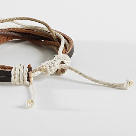 Icon Brand - Bracelet Zenith Marron