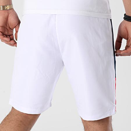 Kappa - Short Jogging A Bandes Iviani 311B32W Blanc