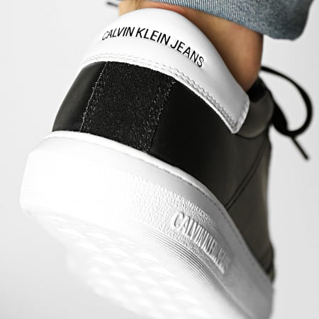 Calvin Klein - Baskets Cupsole Laceup 0033 Black