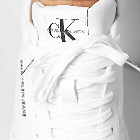 Calvin Klein - Baskets Cupsole Laceup 0033 Bright White