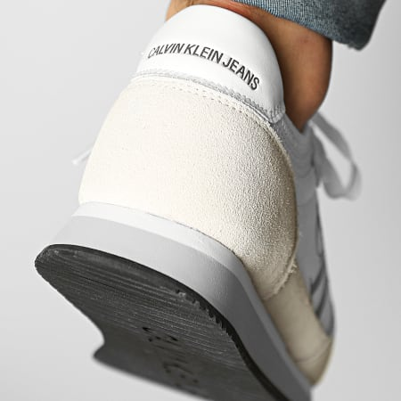 Calvin Klein - Baskets Runner Sock Laceup 0040 Bright White