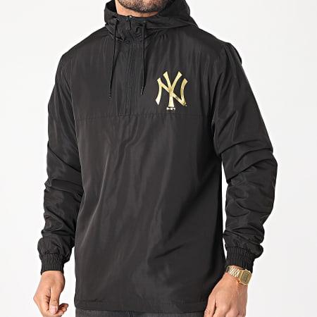 New Era - Coupe-Vent A Capuche Metalic New York Yankees 12590862 Noir Doré