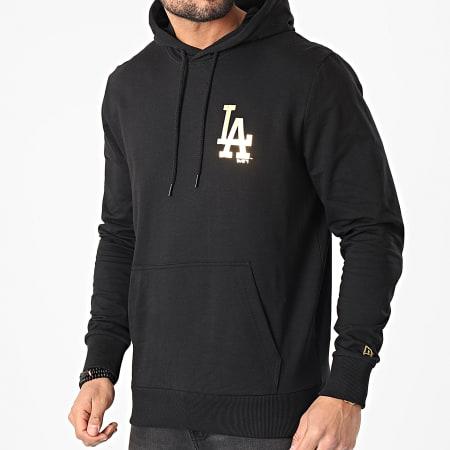 New Era - Sweat Capuche Los Angeles Dodgers Metallic 12590871 Noir Doré