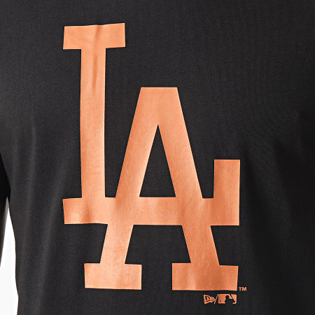 New Era - Tee Shirt Los Angeles Dodgers Sea Team Logo 12590907 Noir