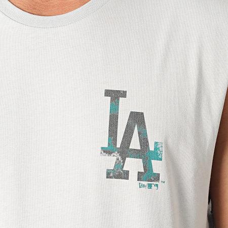 New Era - Tee Shirt Sans Manches Infill TM Logo Los Angeles Dodgers 12590912 Gris