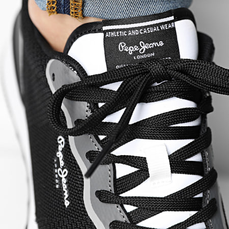 Pepe Jeans - Baskets Cross 4 Knit PMS30706 Black