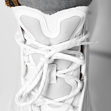 Reebok - Baskets Zig Kinetica II FX9341 White Pure Grey 3 Energy Glow