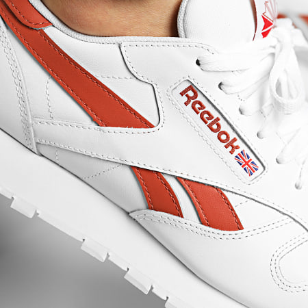 Reebok - Baskets Classic Leather FY9404 White Baked Earth Vector Red