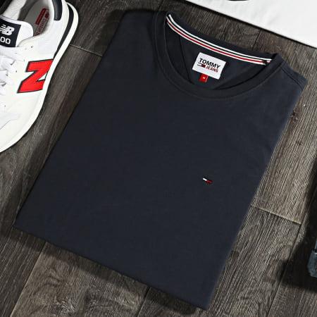 Tommy Jeans - Lot De 2 Tee Shirts CNeck 0705 Blanc Bleu Marine