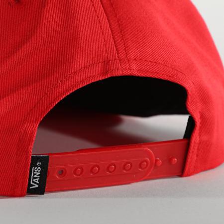 Vans - Casquette Snapback Easy Box A45DP Rouge