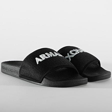 Armani Exchange - Claquettes XUP001-XV087 Noir