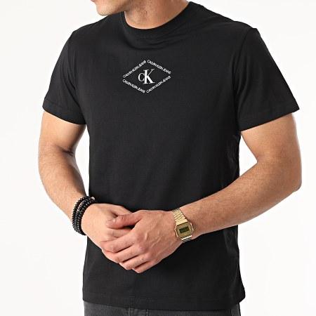 Calvin Klein Jeans - Tee Shirt Mono Triangle 7448 Noir