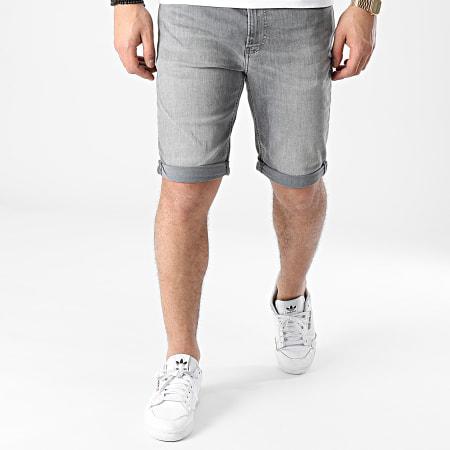 Calvin Klein Jeans - Short Jean Slim 7741 Gris
