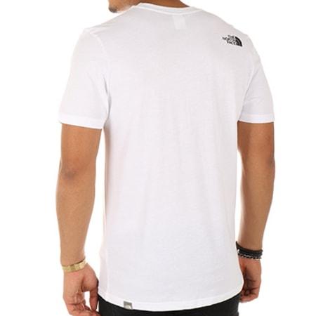 The North Face - Tee Shirt Easy A2TX3FN4 Blanc