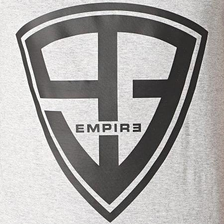 93 Empire - Débardeur Logo Gris Chiné