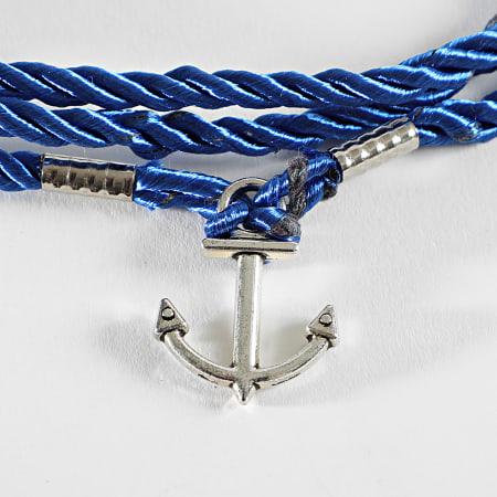 California Jewels - Pendentif Ancre Bleu Roi