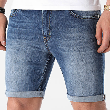 LBO - Short Jean Skinny Fit 1463 Denim Bleu Medium