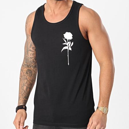 Luxury Lovers - Débardeur Rose Chest Noir Blanc
