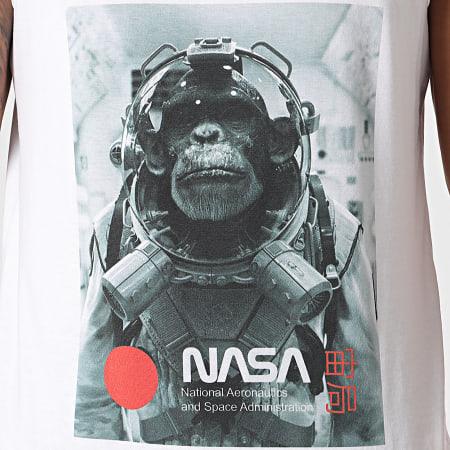 NASA - Débardeur Chimp In Space Blanc
